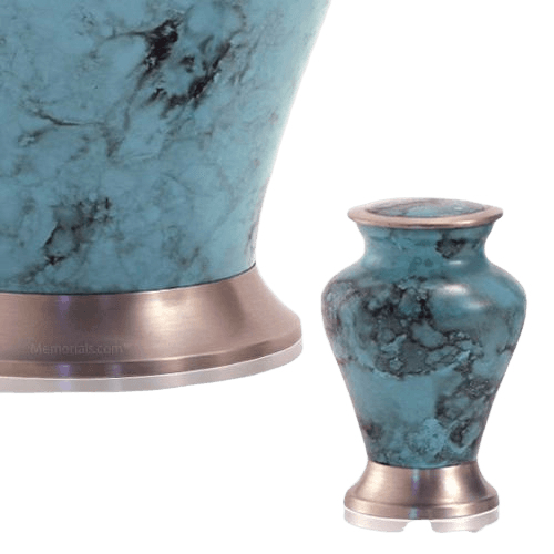 Glenwood Blue Keepsake Cremation Urn