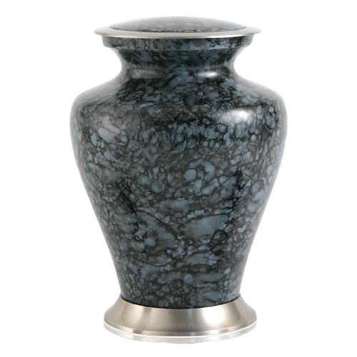 Glenwood Gray Marble Cremation Urn