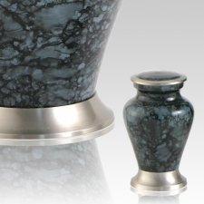 Glenwood Gray Marble Keepsake Cremation Urn