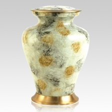 Glenwood White Cremation Urn