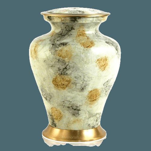 Glenwood White Cremation Urn