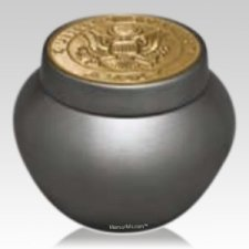 Glory Army Keepsake Urn