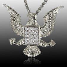 Glory Eagle Cremation Pendant