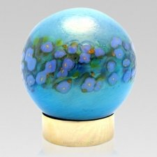 Glory Glass Child Cremation Urn