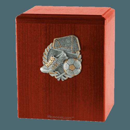 Goal Cherry Cremation Urn