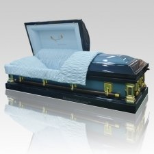 Gods Care Steel Casket
