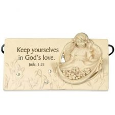 Gods Love Angel Remembrance Sign