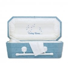 Going Home Small Child Casket