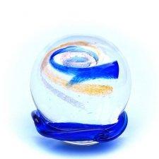 Gold & Ocean Blue Galaxy Memory Glass Keepsake