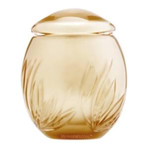 Gold Bloom Pet Urn