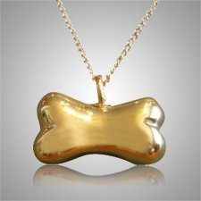Dog Bone Cremation Pendant IV