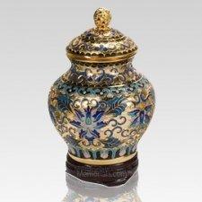 Gold Copper Keepsake Urn
