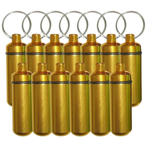 Gold Cremation Discount Keychains