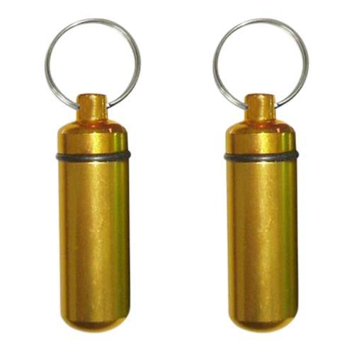 Gold Cremation Keychains