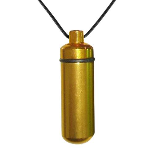 Gold Cremation Pendant