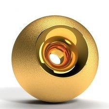 Gold Elite Orb Cremation Urns