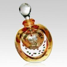 Gold Forever Bubbles Keepsake Urns