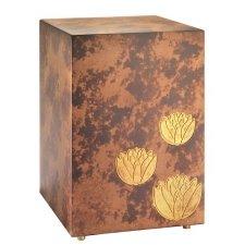Gold Lotus Cremation Urn