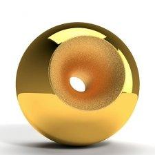 Gold Modern Orb Cremation Urns