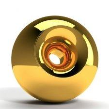 Gold Orb Cremation Urns