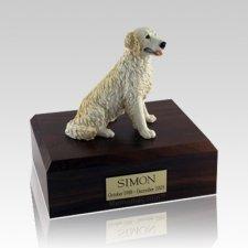 Golden Retriever Blond Large Dog Urn