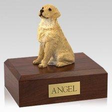 Golden Retriever Blond Sitting X Large Dog Urn