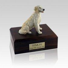 Golden Retreiver Blonde Large Dog Urn