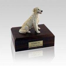 Golden Retreiver Blonde Medium Dog Urn