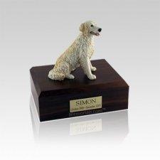 Golden Retreiver Blonde Small Dog Urn
