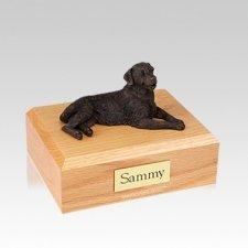 Golden Retriever Bronze Medium Dog Urn