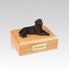 Golden Retriever Bronze Small Dog Urn
