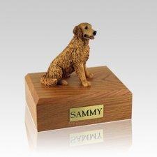 Golden Retriever Golden Small Dog Urn