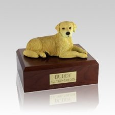 Golden Retriever Medium Dog Urn