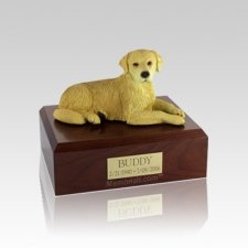 Golden Retriever Small Dog Urn