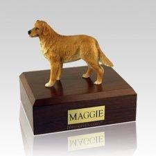 Golden Retriever Standing Large Dog Urn