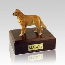 Golden Retriever Standing Medium Dog Urn