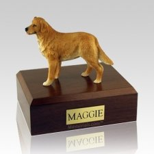 Golden Retriever Standing X Large Dog Urn