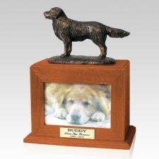Golden Years Picture Pet Walnut Urn