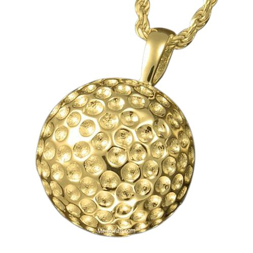 Golf Ball Cremation Pendant IV