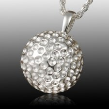 Golf Ball Cremation Pendant