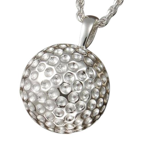 Golf Ball Cremation Pendant