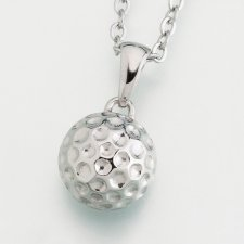 Golf Ball Keepsake Pendant