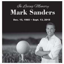 Golf Granite Memorial Stone