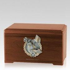 Golf Tour Walnut Cremation Urn
