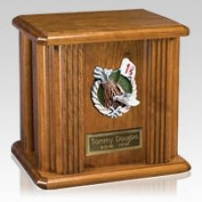 Unique Golf Wood Urn