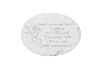 Goodbyes Memorial Stone