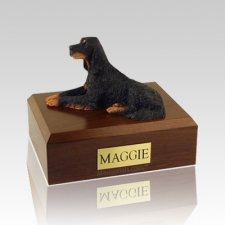 Gordon Setter Large Dog Urn