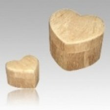 Grain Heart Pet Bio Cremation Urns