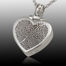 Grand Heart Cremation Print Keepsakes