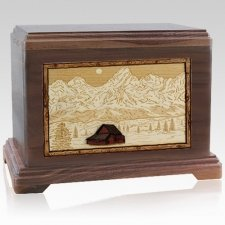 Grand Tetons Companion Urns for Two